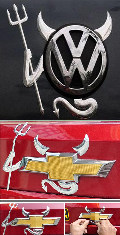 стикер дьявол на эмблему автомобилля: www.gradicom.ru/product/devil-3d-logotip-na-emblemu-avtomobilja