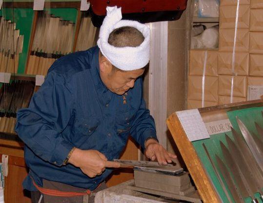 Заточка ножей Samura в Ростове-на-Дону