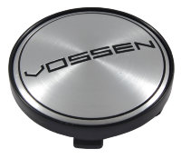 Заглушка для диска Vossen (60/56/9) silver/black mx