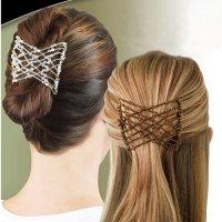 2 заколки для надежной фиксации волос «Изи хоум»